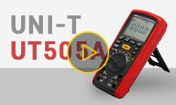 UNI-T UT505A Insulation Resistance Meter Video Review