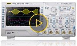 Видеообзор цифрового осциллографа RIGOL DS4054