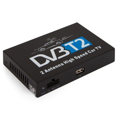 Автомобильный цифровой тюнер DVB T2 с функцией записи