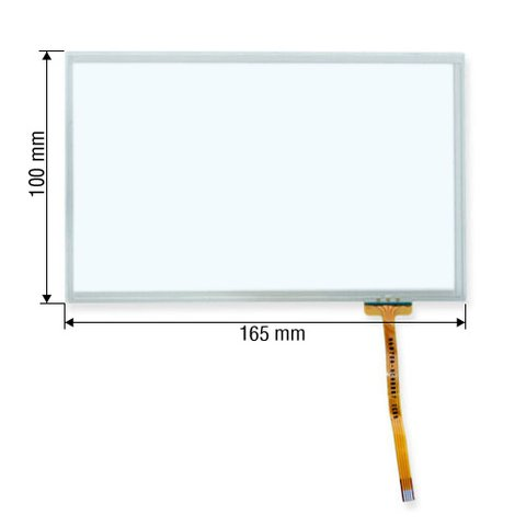 """7"""" Resistive Touch Screen Panel"""