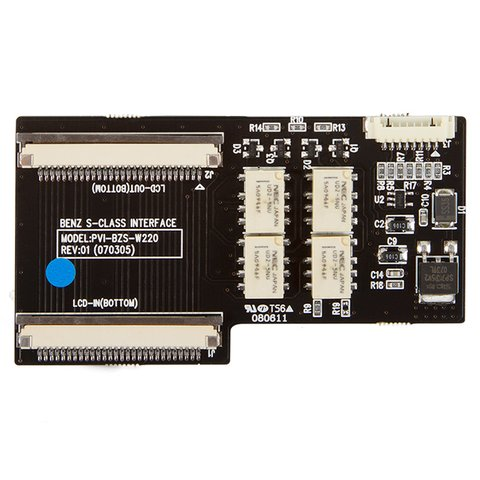 Sub Board for Video Interface for Mercedes Benz W220