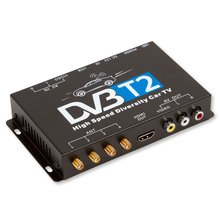 Car DVB T2 TV Receiver with 4 Antennas - Short description