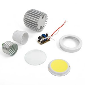 LED Light Bulb DIY Kit TN-A43 5 W (cold white, E27)