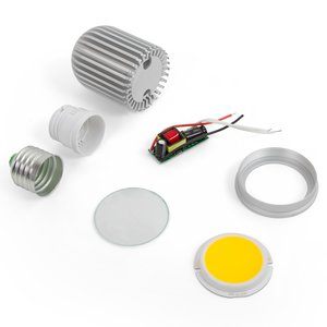 LED Light Bulb DIY Kit TN-A44 7 W (cold white, E27)