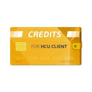 HCU Client Credits - GsmServer