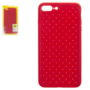Case Baseus compatible with iPhone 7 Plus, iPhone 8 Plus, (red, braided) #WIAPIPH8P-BV09