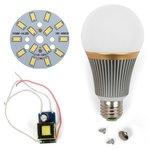 Juego de piezas para armar lámpara LED regulable SQ-Q23 5730 7 W (luz blanca fría, E27)
