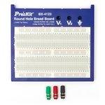Panel para modelar esquemas eléctricos Pro'sKit BX-4123 (1580 Aberturas)