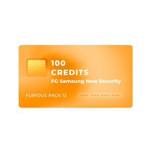 100 кредитов FG Samsung New Security Unlock для обладателей Furious PACK 12