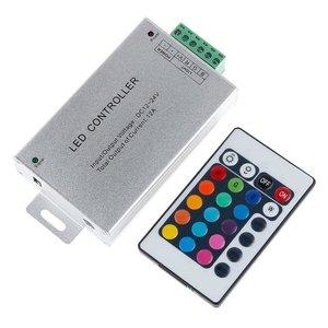 Контроллер с ИК пультом HTL-010 (RGB, 5050, 3528, 144 Вт)