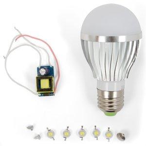 Комплект для сборки светодиодной лампы SQ-Q02 5 Вт (холодный белый, E27)