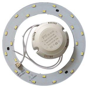 Комплект для сборки светодиодного светильника 12 Вт (естественный белый, круглый, 4000-4500 К)