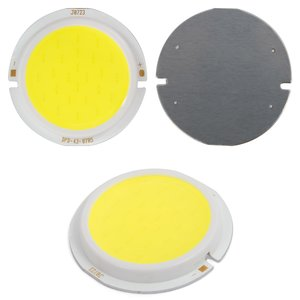 COB LED модуль 7 Вт (холодный белый, 450 лм, 43 мм, 300 мА, 21-23 В)