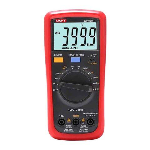 Цифровий мультиметр UNI T UTM 1136C+ UT136C+